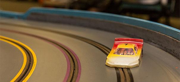 Slot Car Racing Track Time